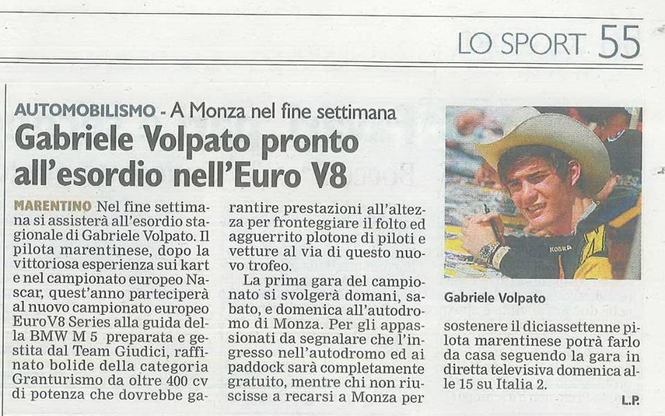 Corriere di Chieri del 4 aprile 2014